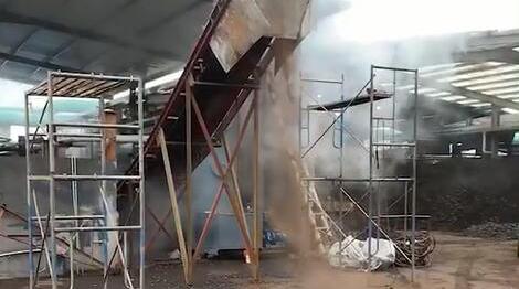 污泥烘干机出泥效果